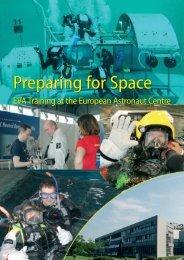 Preparing for Space Preparing for Space - ESA