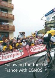 Following the Tour de France with EGNOS - ESA