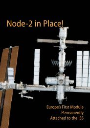 Node-2 in Place! – Europe's First Module Permanently - ESA