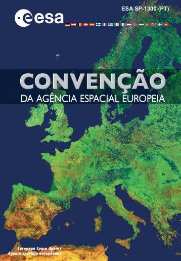 Convenção da Agência Espacial Europeia - ESA
