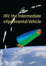 IXV: the Intermediate eXperimental Vehicle IXV: the ... - ESA