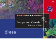 Europe and Canada - Partners in Space (ESA BR