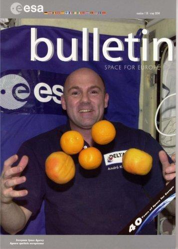 Bulletin 118 - ESA