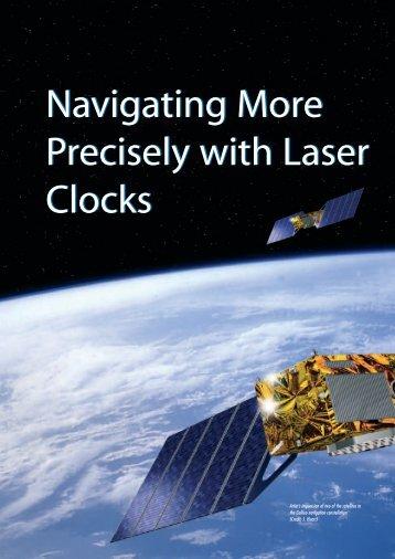 Navigating More Precisely with Laser Clocks Navigating More ... - ESA