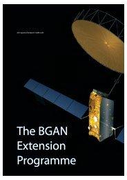 The BGAN Extension Programme The BGAN Extension ... - ESA