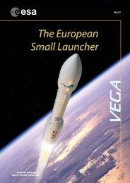 Vega The European Small Launcher - ESA