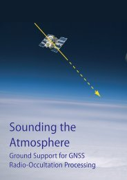 Sounding the Atmosphere Sounding the Atmosphere - ESA