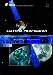 ELECTRIC PROPULSION - ESA
