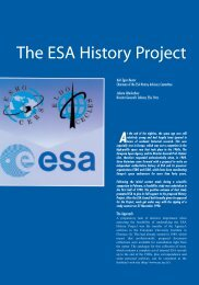 The ESA History Project