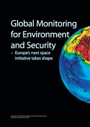 Global Monitoring for Environment and Security Global ... - ESA