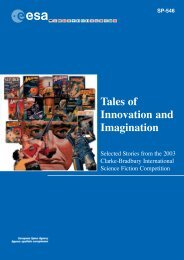 SP-546: Tales of Innovation and Imagination - ESA