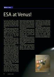 ESA at Venus!