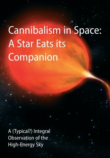 Cannibalism in Space: A Star Eats its Companion - ESA
