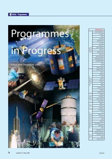 ESA Bulletin No. 125, February 2006