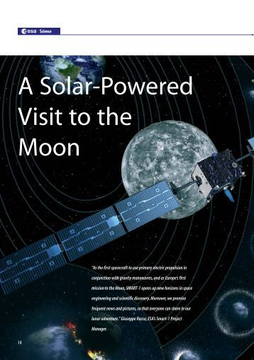 A Solar-Powered Visit To The Moon - ESA