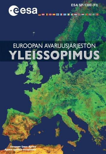 ESA Convention Finnish
