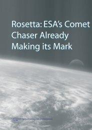 Rosetta: ESA's Comet Chaser Already Making its Mark Rosetta ...