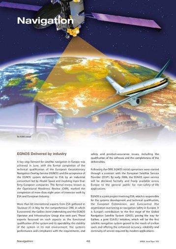 Navigation - ESA