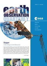 OXYGEN - A New Strategy for Earth Observation - ESA