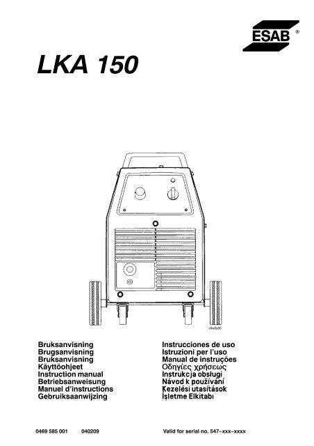 Esab Lka 150