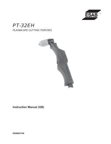 PT-32EH - ESAB