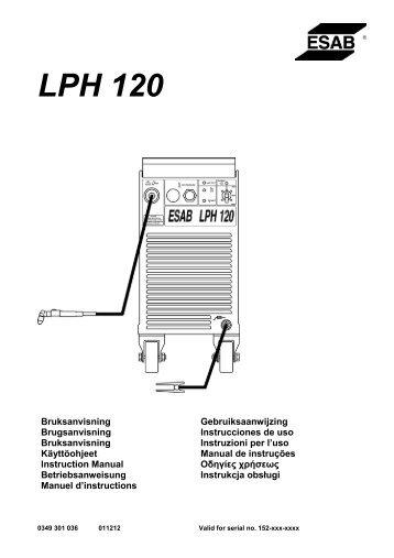 LPH 120 - ESAB