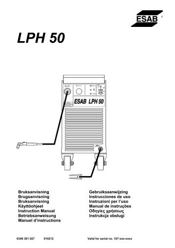 LPH 50 - ESAB
