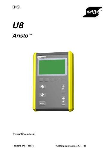 Aristo Pendant U8 - ESAB