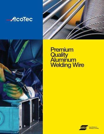 Premium Quality Aluminum Welding Wire - ESAB Welding & Cutting ...