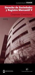 AM.C| Derecho Sociedades.BCN F - Esade