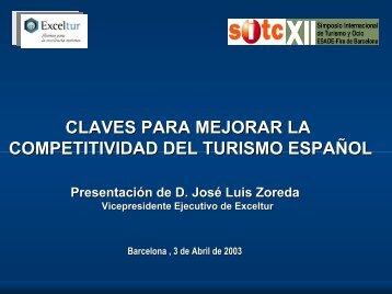 Claves para mejorar la competitividad del turismo español - Esade