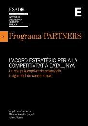 l'acord estratègic per a la competitivitat a catalunya - Esade