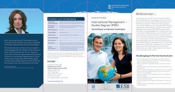 Willkommen … - ESB Business School