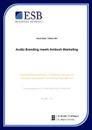 Audio Branding meets Ambush Marketing - ESB Business School