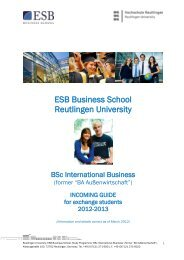 Incoming Guide for Exchange Students 2012/2013 - ESB Business ...
