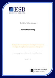 Neuromarketing - ESB Business School