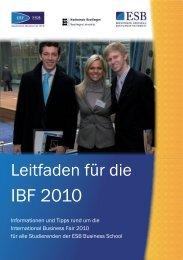 IBF 2010 - International Business Fair- ESB Business School