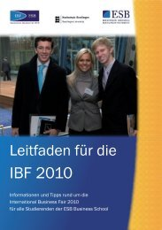 IBF 2010 - International Business Fair- ESB Business School