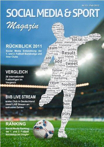 Social Media und Sport Magazin - Februar 2012 - Result-Sports