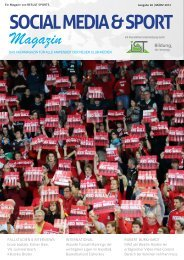 SOCIAL MEDIA & SPORT Magazin - Result-Sports