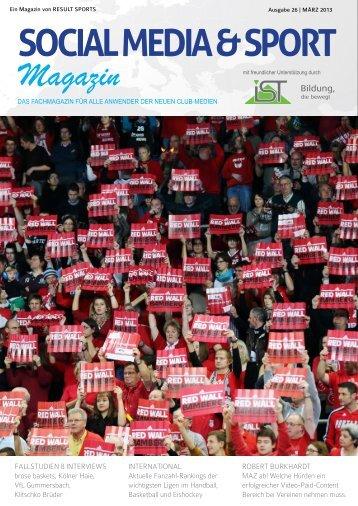 SOCIAL MEDIA & SPORT Magazin - Result-Sports