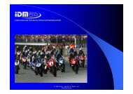 IDM Sponsorenkonzept 2009.08.19 - ESB Europäische Sponsoring ...