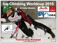 Ice Climbing Worldcup 2010