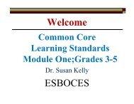 Grades 3-5 ELA Common Core Modules
