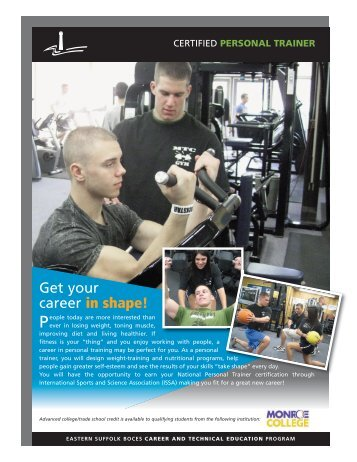 Certified Personal Trainer - Eastern Suffolk BOCES