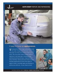 Auto Body Repair and Refinishing - Special Career Education