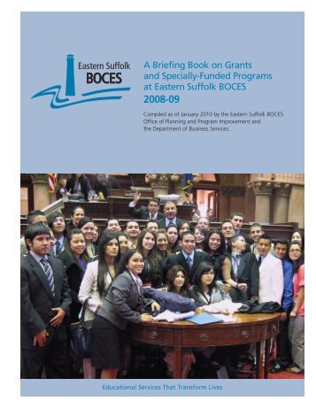 A Briefing Book on Grants and Specially-Funded Programs at ...