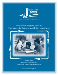 Educational Support Services Pathways to Professional ...