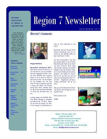 Region 7 Newsletter