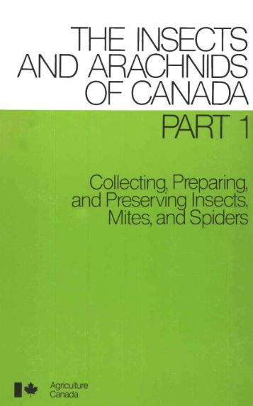the insects and arachnids of canada part 1 - Entomological Society ...